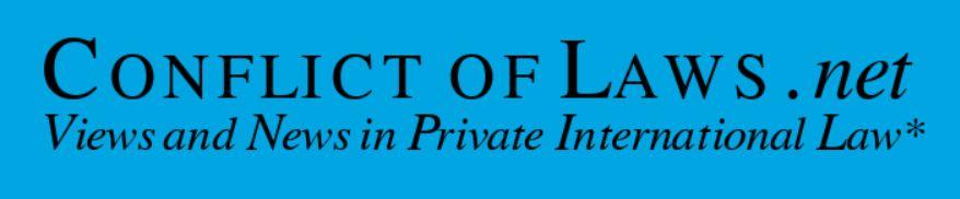 Νέα ανάρτηση στοconflict of laws.net για τις ξενοδοχειακές συμβάσεις και τη διεθνή δικαιοδοσία των ελληνικών δικαστηρίων