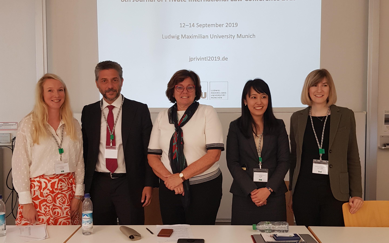 Συμμετοχή ως ομιλητής στο 8ο συνέδριο του Journal of Private International Law